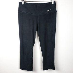 Nike | Dri Fit Black Cropped Leggings Small